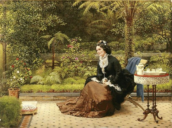 Five O'Clock by George Dunlop Leslie