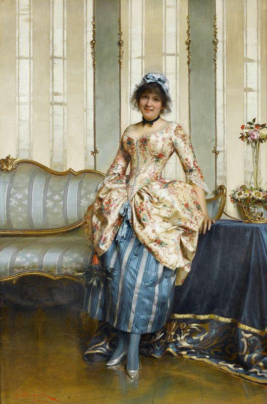Frédéric Soulacroix An elegant maid