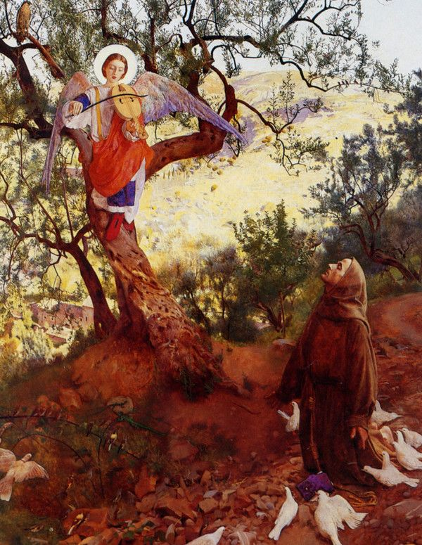 Saint Francis of Assisi :: Frank Cadogan Cowper