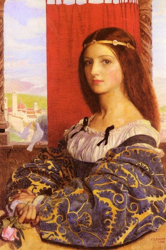 Molly, Duchess Of Nona by Frank Cadogan Cowper