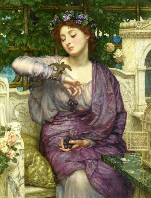 Edward Poynter art