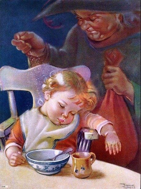 Sleepy Baby by Frances Tipton Hunter