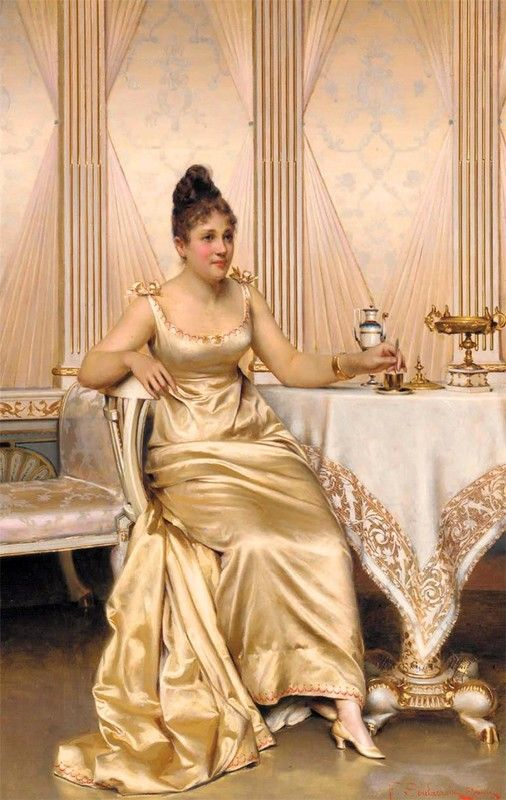 Afternoon Tea  by Frederick Soulacroix