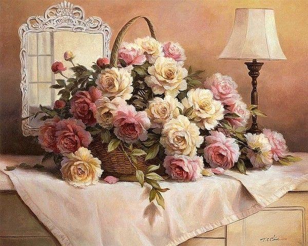 Favori Shui et l'importance des tableaux de fleurs RS65