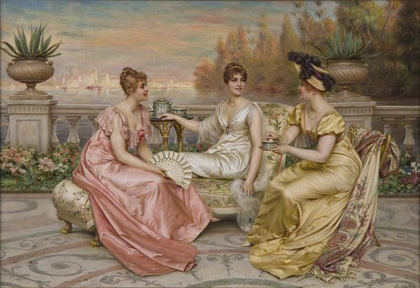 Charles Joseph Frederic Soulacroix - 'The Three Graces'
