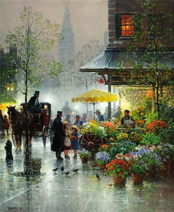 Gerald Harvey Jones Art