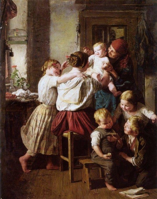 Ferdinand Georg Waldmüller art