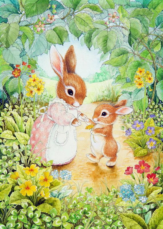 Baby Bunny by Lynn Bywaters