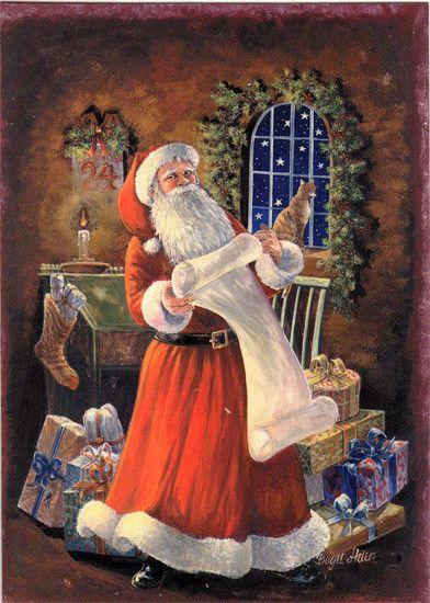 Birgit Helen art- Père Noël