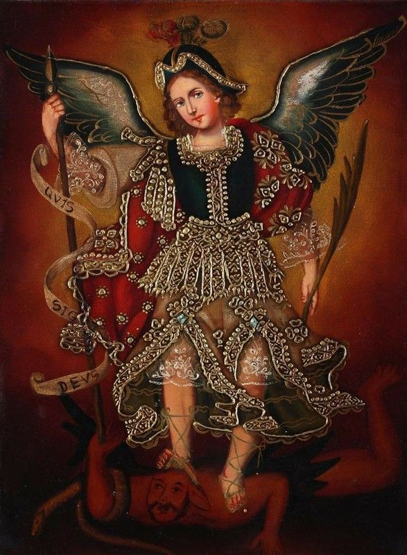 Cuzco Art - Archangel St Michael