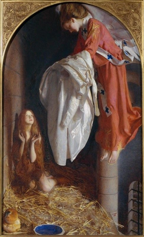 St Agnes in Prison by Frank Cadogan Cowper