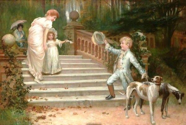 Isaac Snowman (1893 - 1904) - Au revoir