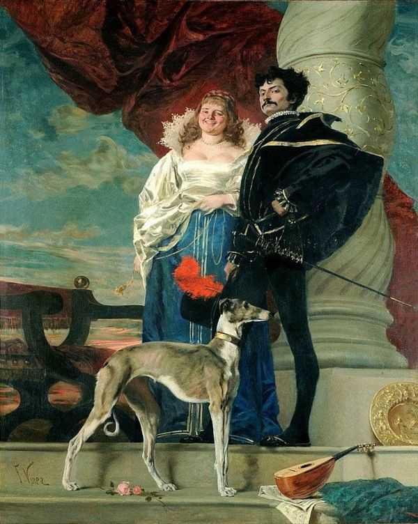 FRANCESCO VINEA (ITALIEN, 1845-1902)