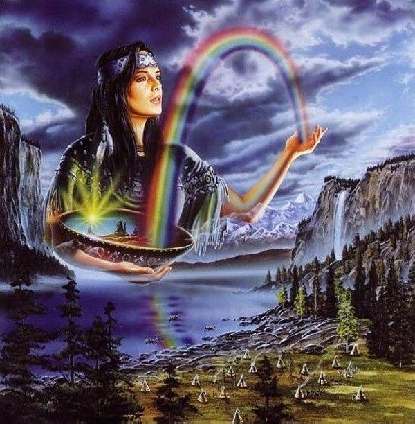 Rainbow Indian