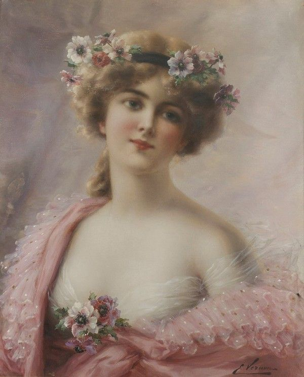 Robes roses dans l'art