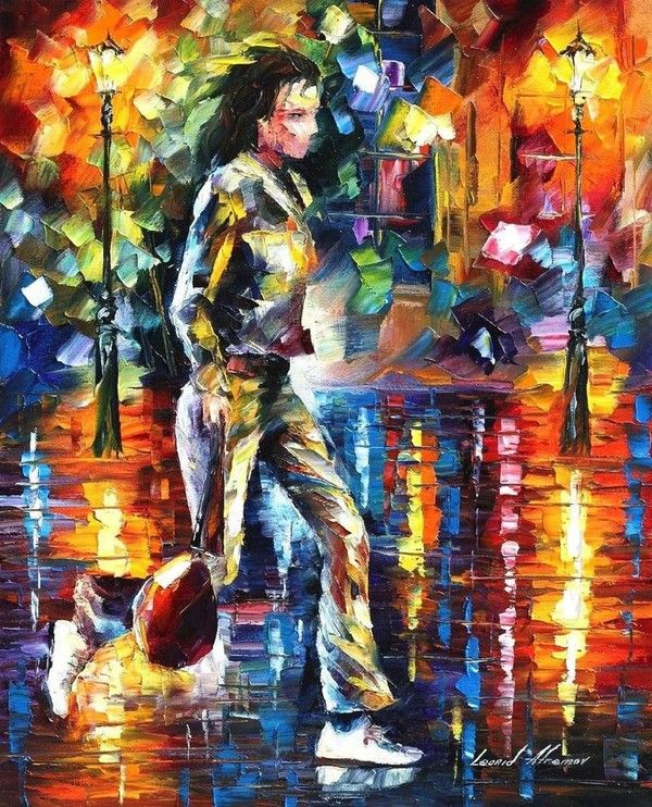 Beautiful painting by Leonid Afremov