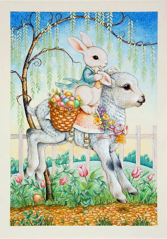 The Easter Bunny by Lynn Bywaters