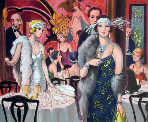 les femmes pendant les annes 1920 essay 28 mars 2012  naissance d'une femme moderne : la garçonne l'essor du maquillage dans les  années vingt accompagne une profonde transformation de la.