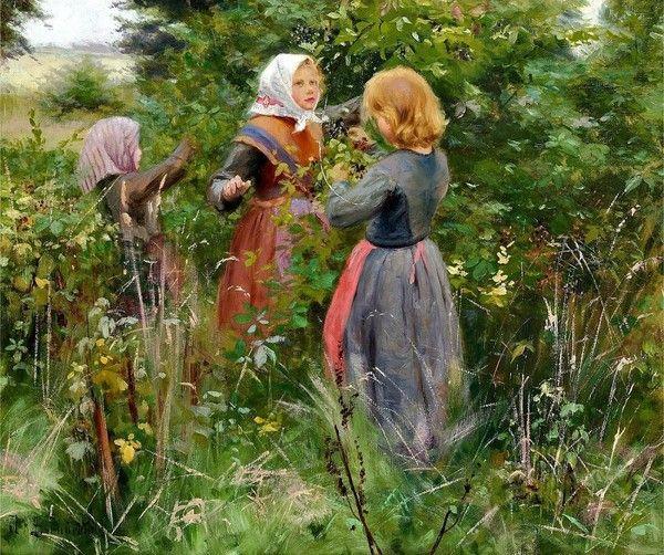 HANS ANDERSEN BRENDEKILDE(1857-1942)