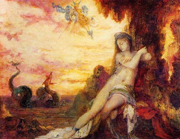 Gustave Moreau art