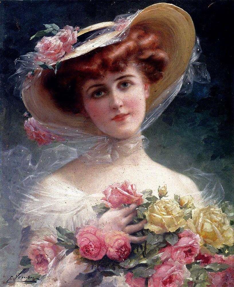 Emile Vernon Oil Paintings