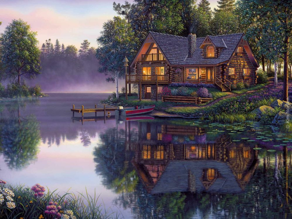 Kim norlien art for House painting images