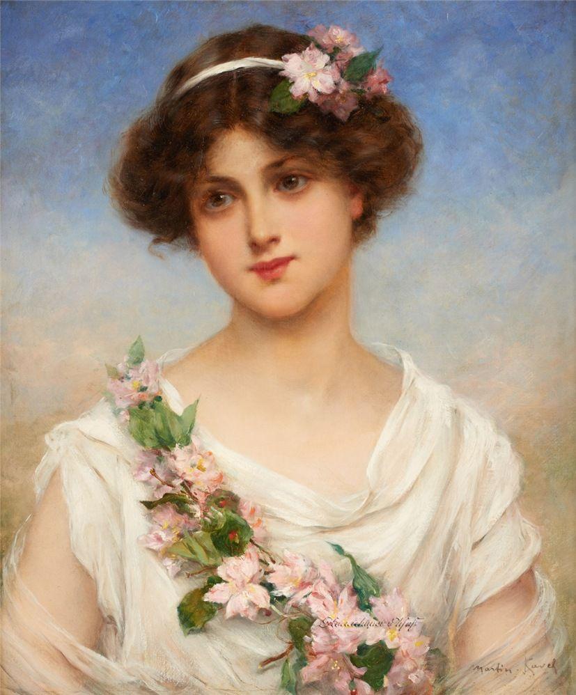 Painterlog.com: Francois Martin Kavel (French artist, 1861