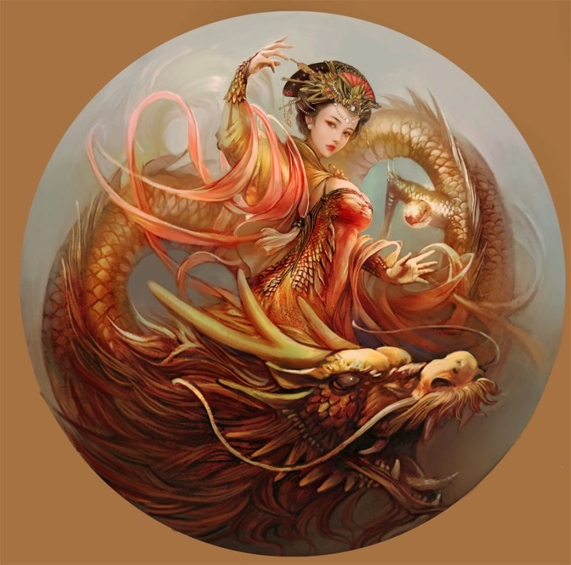 Symbole et l gende du dragon chinois - Photo de dragon chinois ...